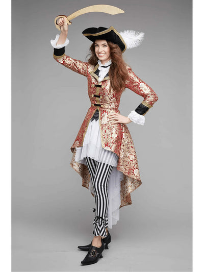 Pirate Captain Costume For Women
