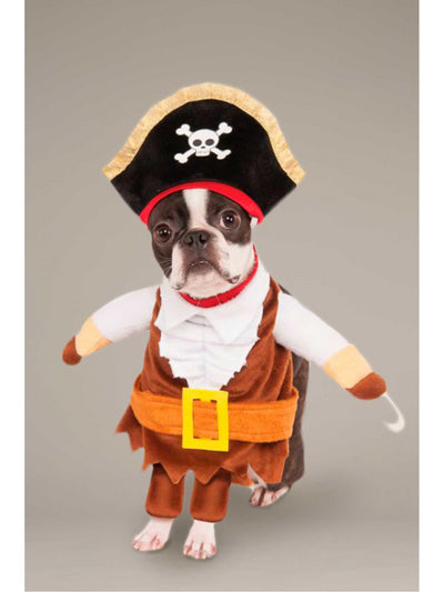 Pirate Costume for Dogs  red 1