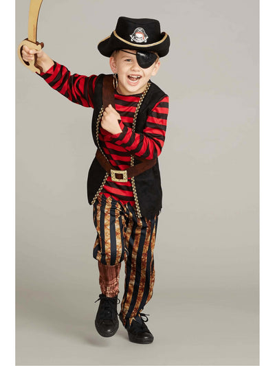 Pirate Costume Play Set For Boys