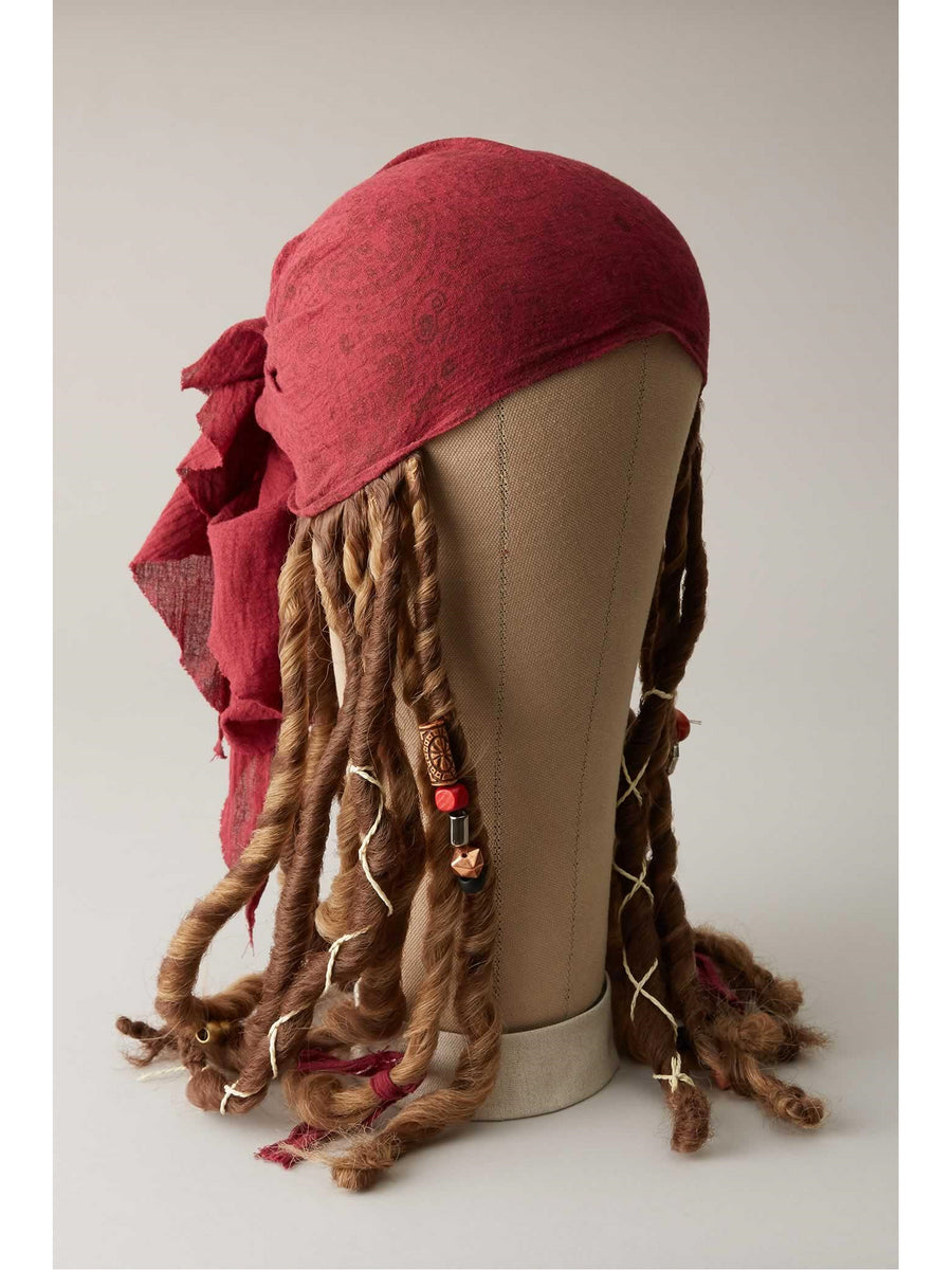 Pirates of the Caribbean Jack Sparrow Bandana & Dreadlocks