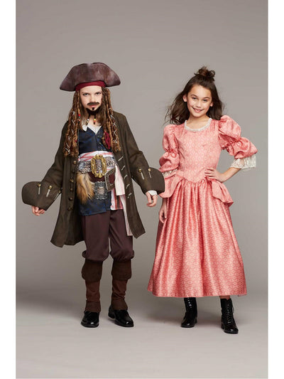 Pirates of the Caribbean Carina Costume for Girls  ora alt1