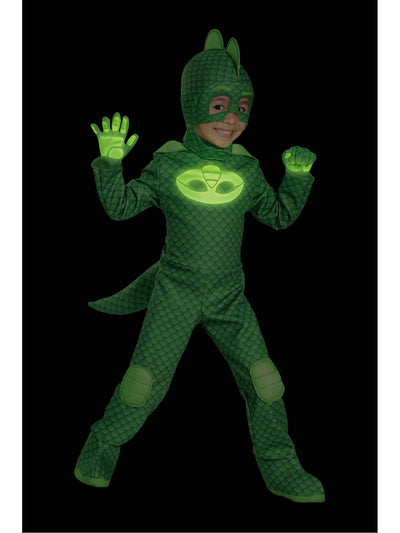 PJ Masks Gekko Costume for Kids  gre alt1