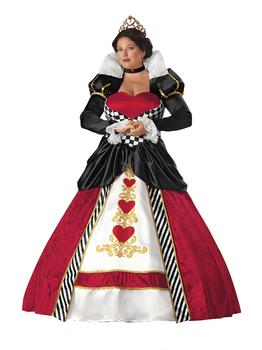 Plus Size Queen of Hearts Costume for Women