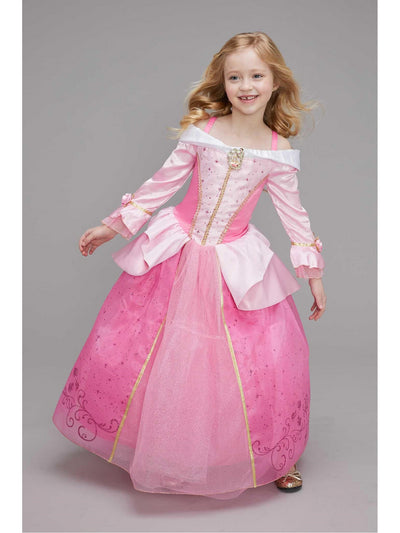 Princess Aurora Costume for Girls  pin alt1