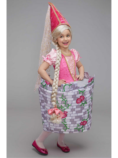 Princess-in-Castle Costume for Girls