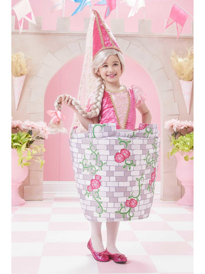 Princess-in-Castle Costume for Girls  pin alt1