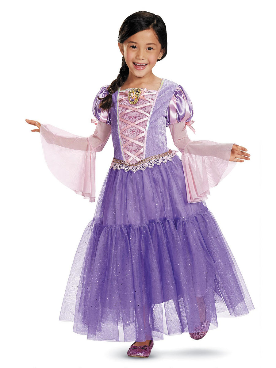 Rapunzel Deluxe Costume for Girls