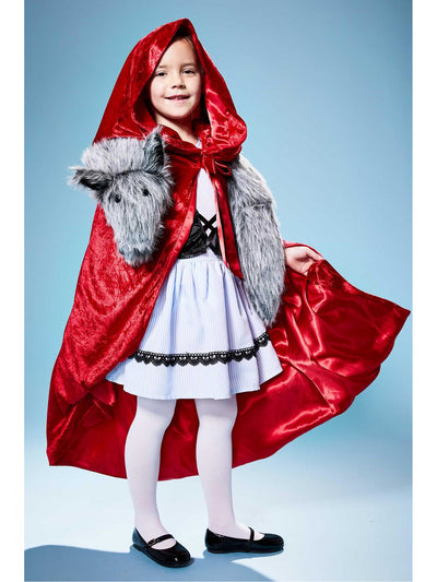 Red Riding Hood with Wolf Costume for Girls
