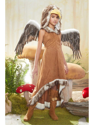 Regal Eagle Costume For Girls  bro alt1