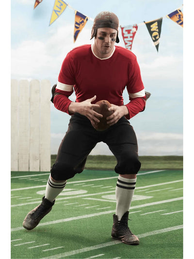 Retro Football Player Costume For Men  mlt alt1