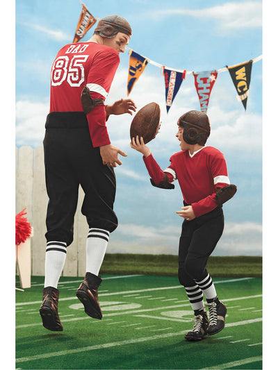 Retro Football Player Costume For Men  mlt alt2