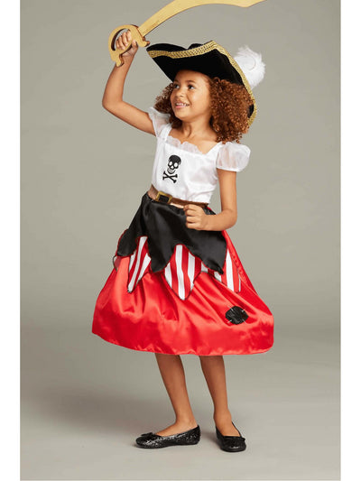 Reversible Pirate & Princess Costume For Girls