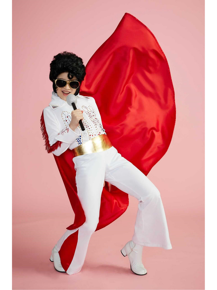 Rhinestone Rock Star Costume for Boys