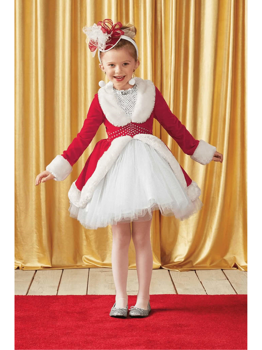 Rockettes® Santa Costume For Girls