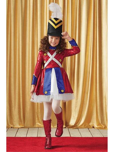 Rockettes® Toy Soldier Costume For Girls  mlt alt1