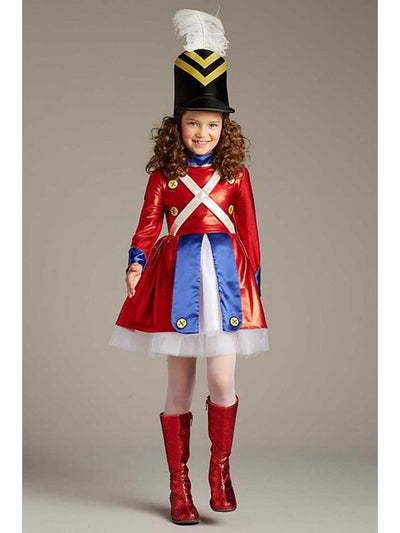 Rockettes® Toy Soldier Costume For Girls  red 1