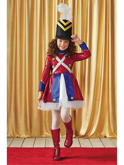 Rockettes® Toy Soldier Costume For Girls  red alt1