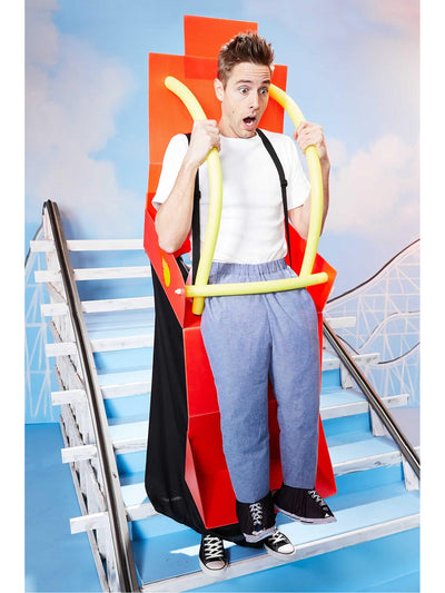 Roller Coaster Costume for Adults