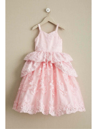 Romantic Flower Girl Dress  aqu alt1