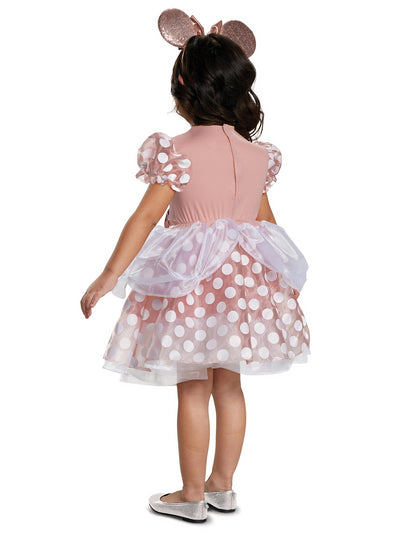Rose Gold Minnie Classic Costume for Toddlers  rgd alt1