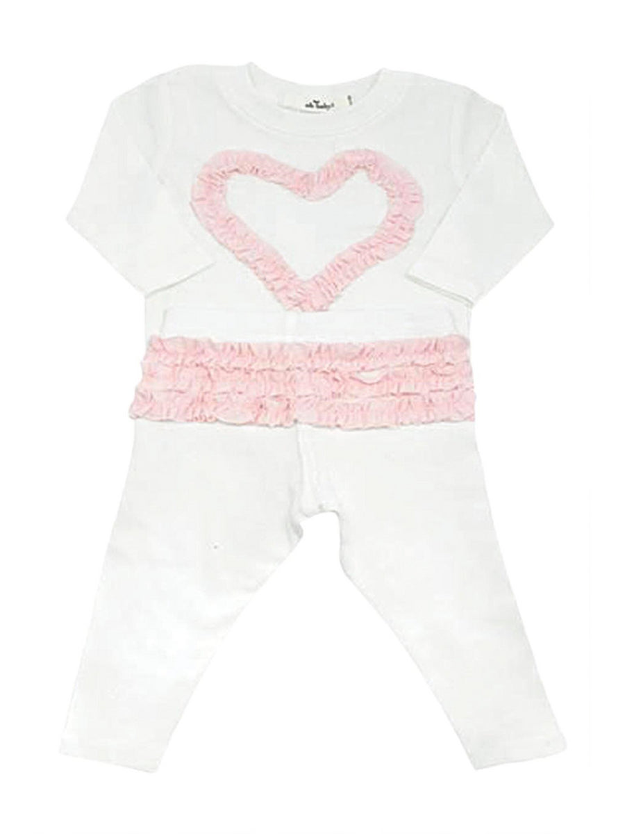 Ruffle Heart 2-Pc. Set for Baby