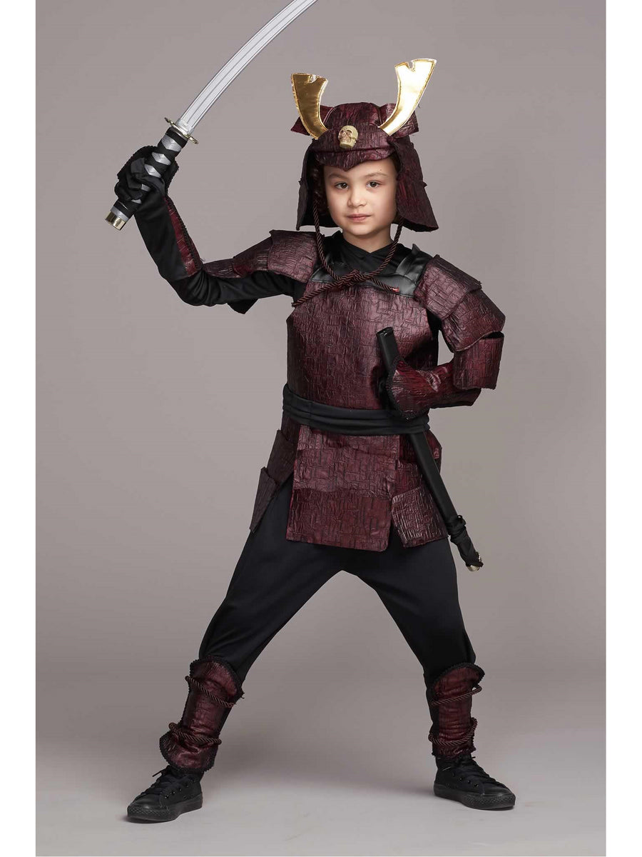 Samurai Warrior Costume for Kids