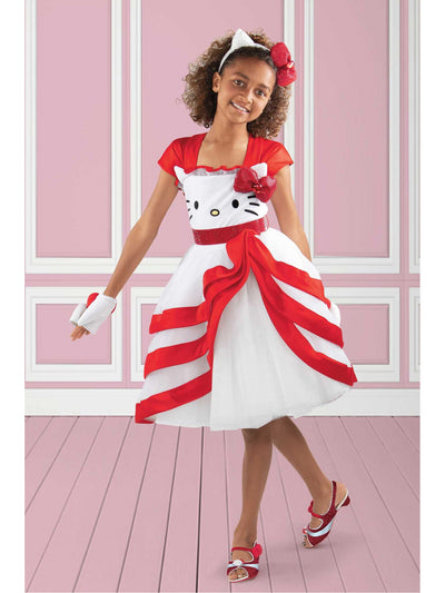 Sanrio® Hello Kitty® Deluxe Costume for Girls  wre alt1