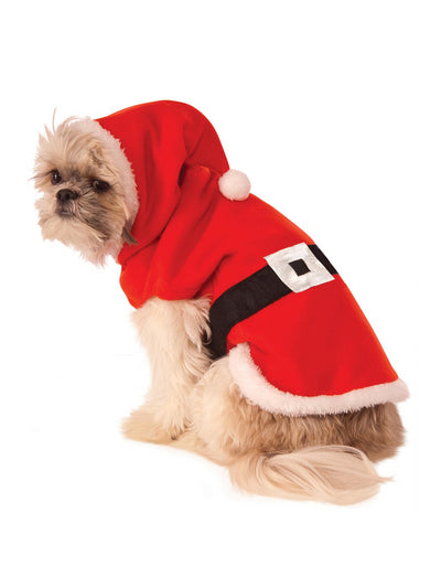 Santa Hoodie Costume for Dogs