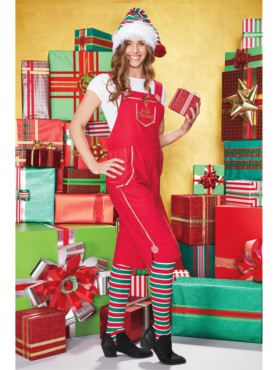 Santa's Workshop Elf Costume for Adults