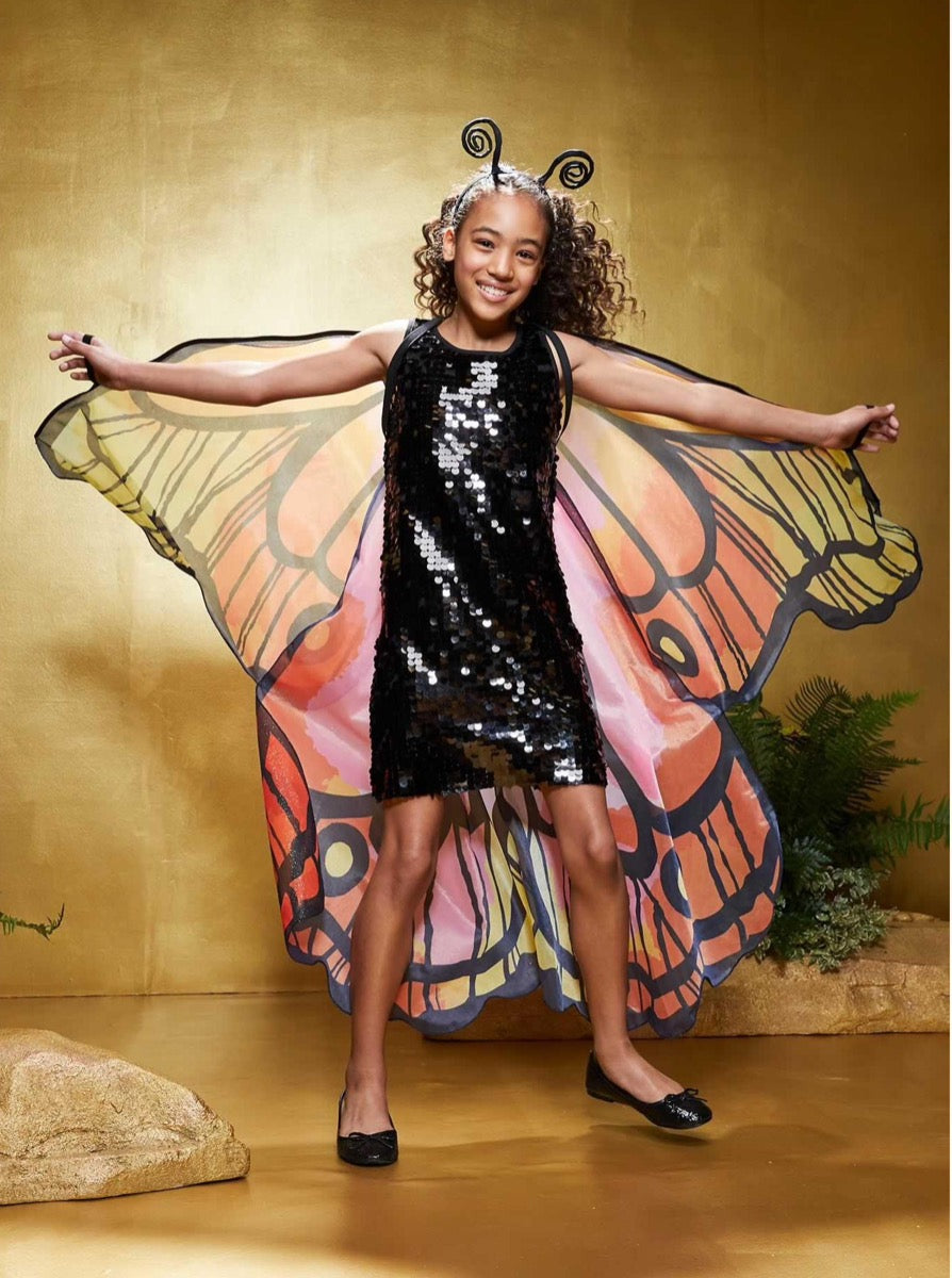 Sequin Butterfly Costume for Girls