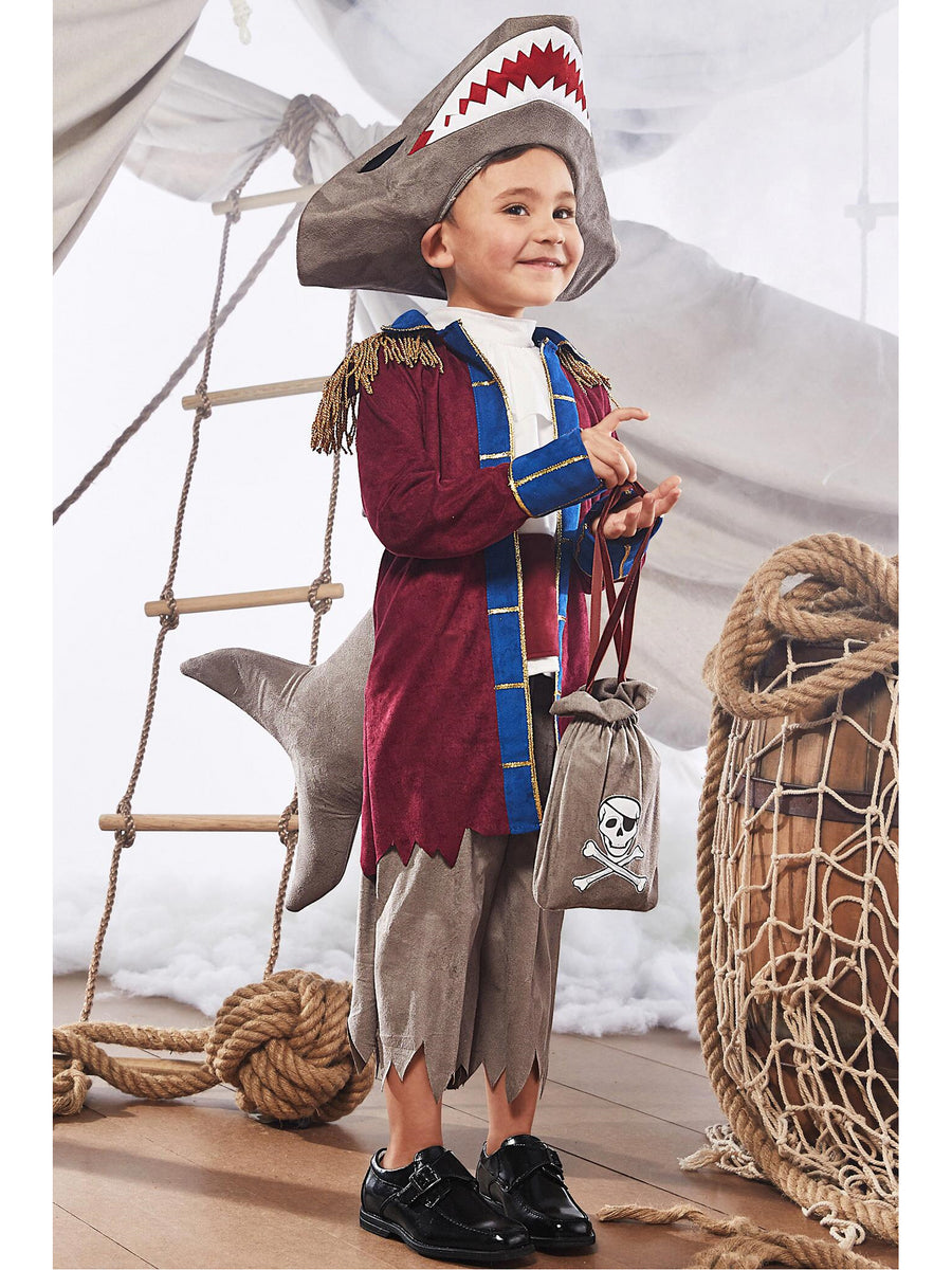 Shark Pirate Costume for Kids