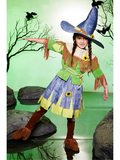 Silly Scarecrow Costume for Girls