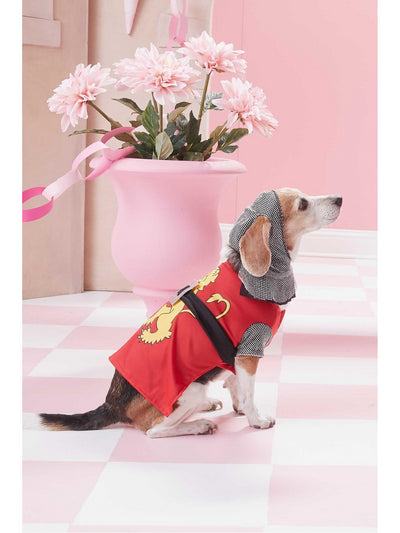 Sir Barks-a-Lot Costume for Dogs  red alt1