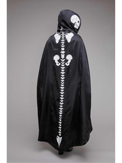 Skeleton Cape for Women  bla alt1