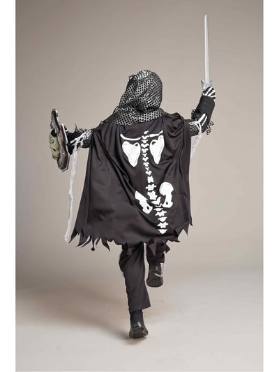 Skeleton Knight Costume For Boys  bla alt2