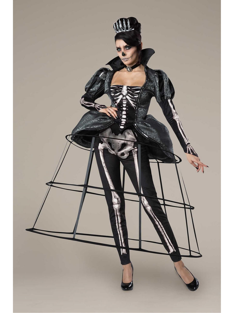Skeleton Queen Costume for Women