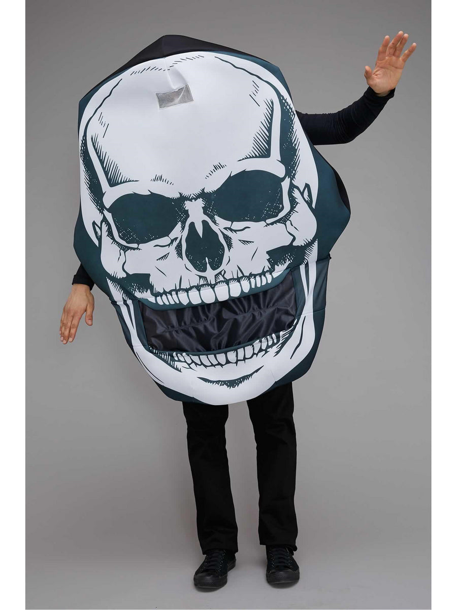 Skull Head Costume for Adults