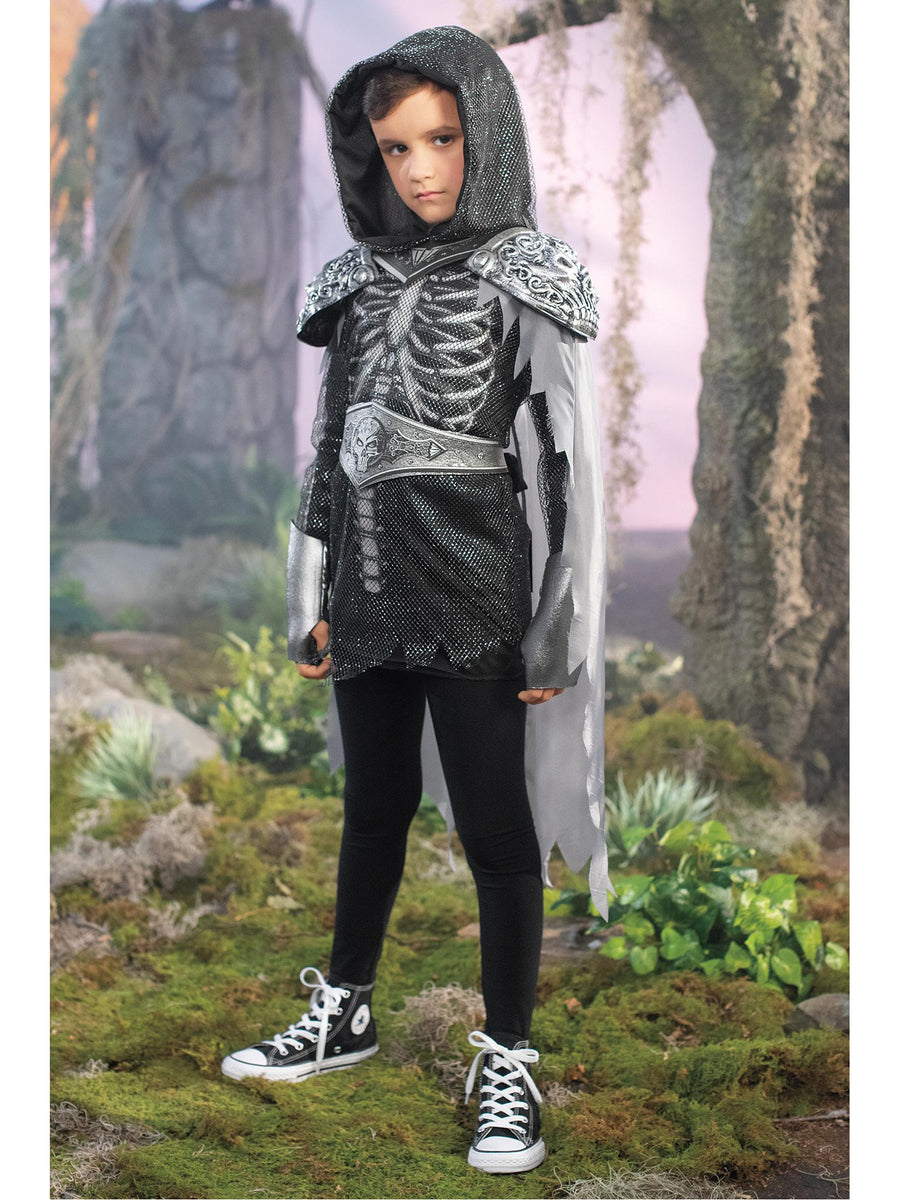 Skull Knight Costume for Kids