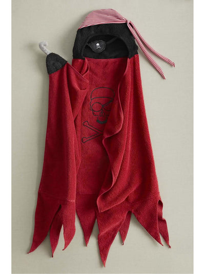 Skull Pirate Hooded Towel  nc alt2