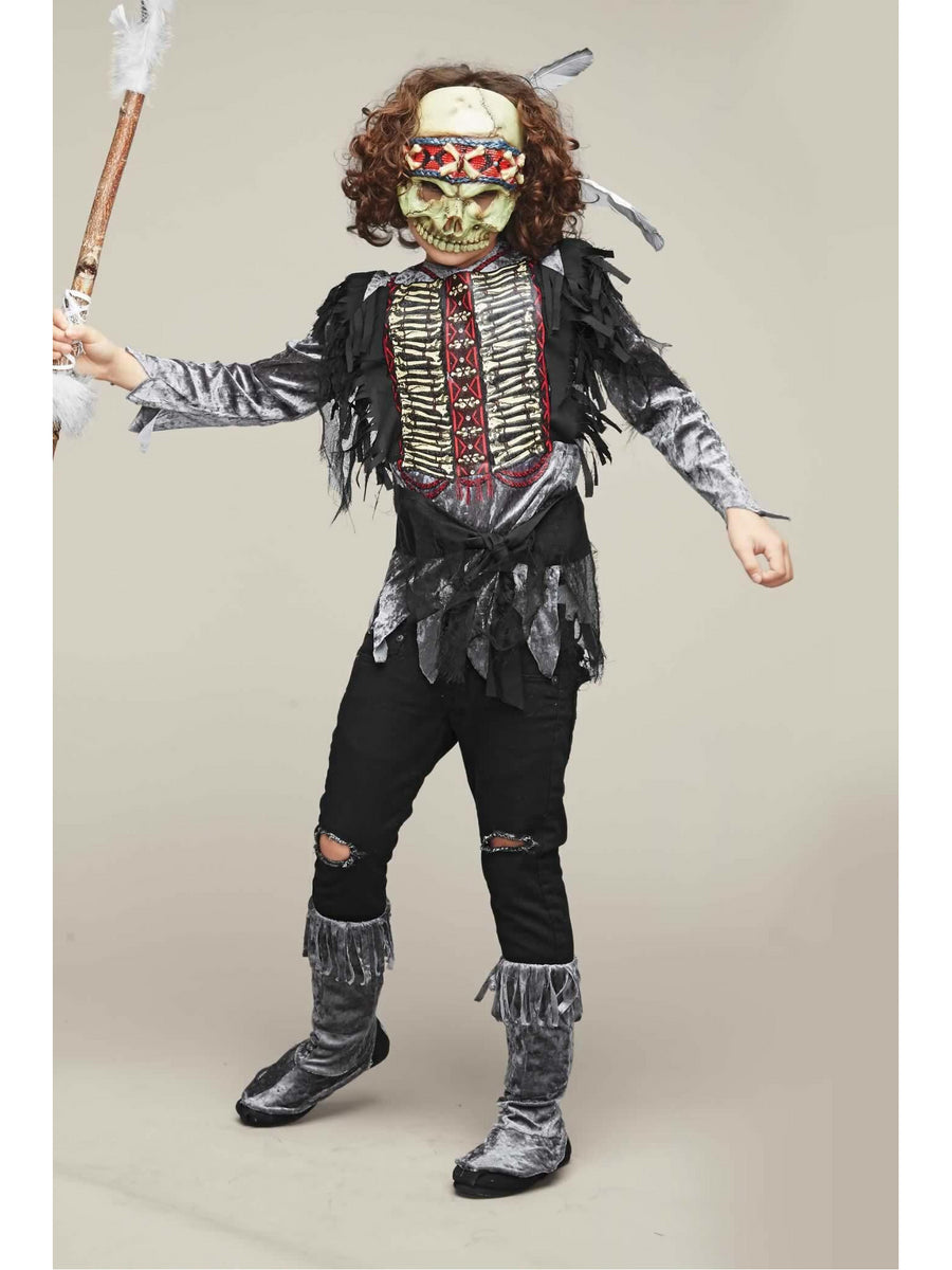 Skull Warrior Costume for Boys