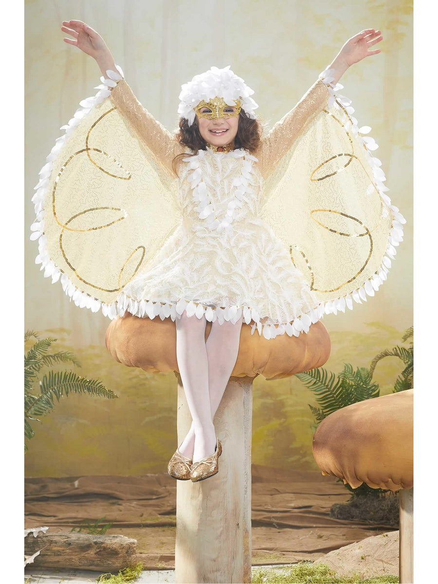 Snow Owl Costume For Girls