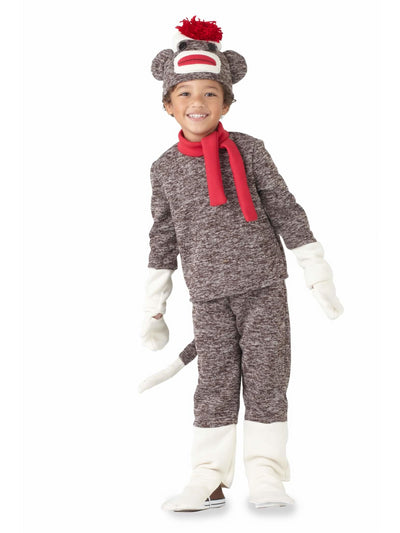 Sock Monkey Costume For Boys