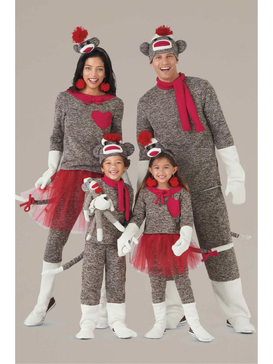 Sock Monkey Costume For Men