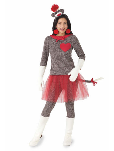 Sock Monkey Costume For Women