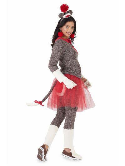 Sock Monkey Costume For Women  bro alt2