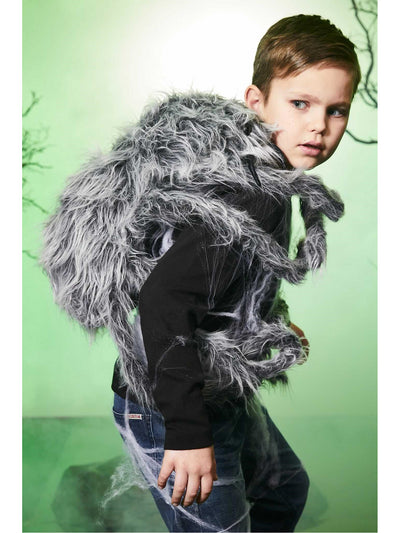 Spooky Spider Backpack Costume  gra alt1