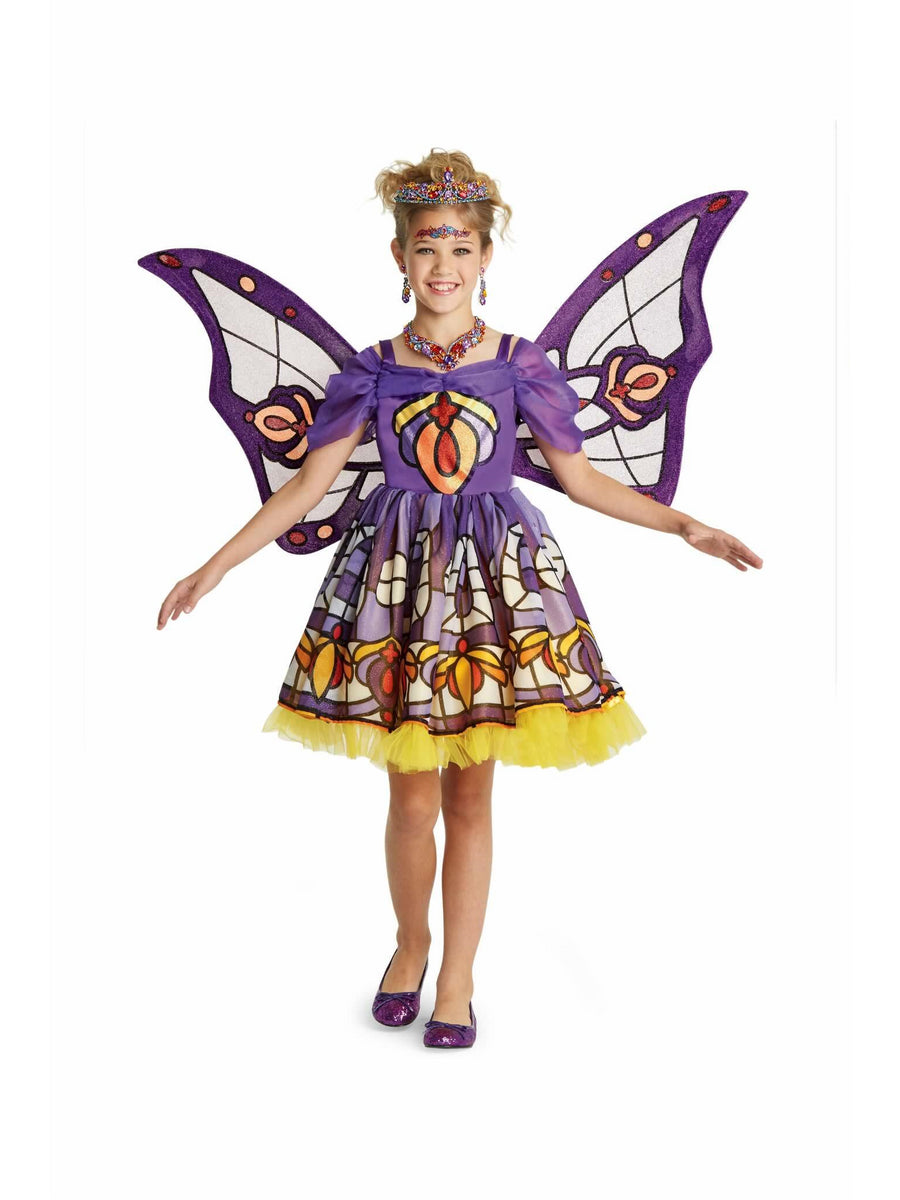 Stained Glass Fairy Costume For Girls
