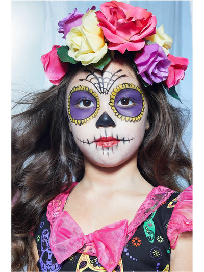 Sugar Skull Sweetie Costume for Girls  pin alt3