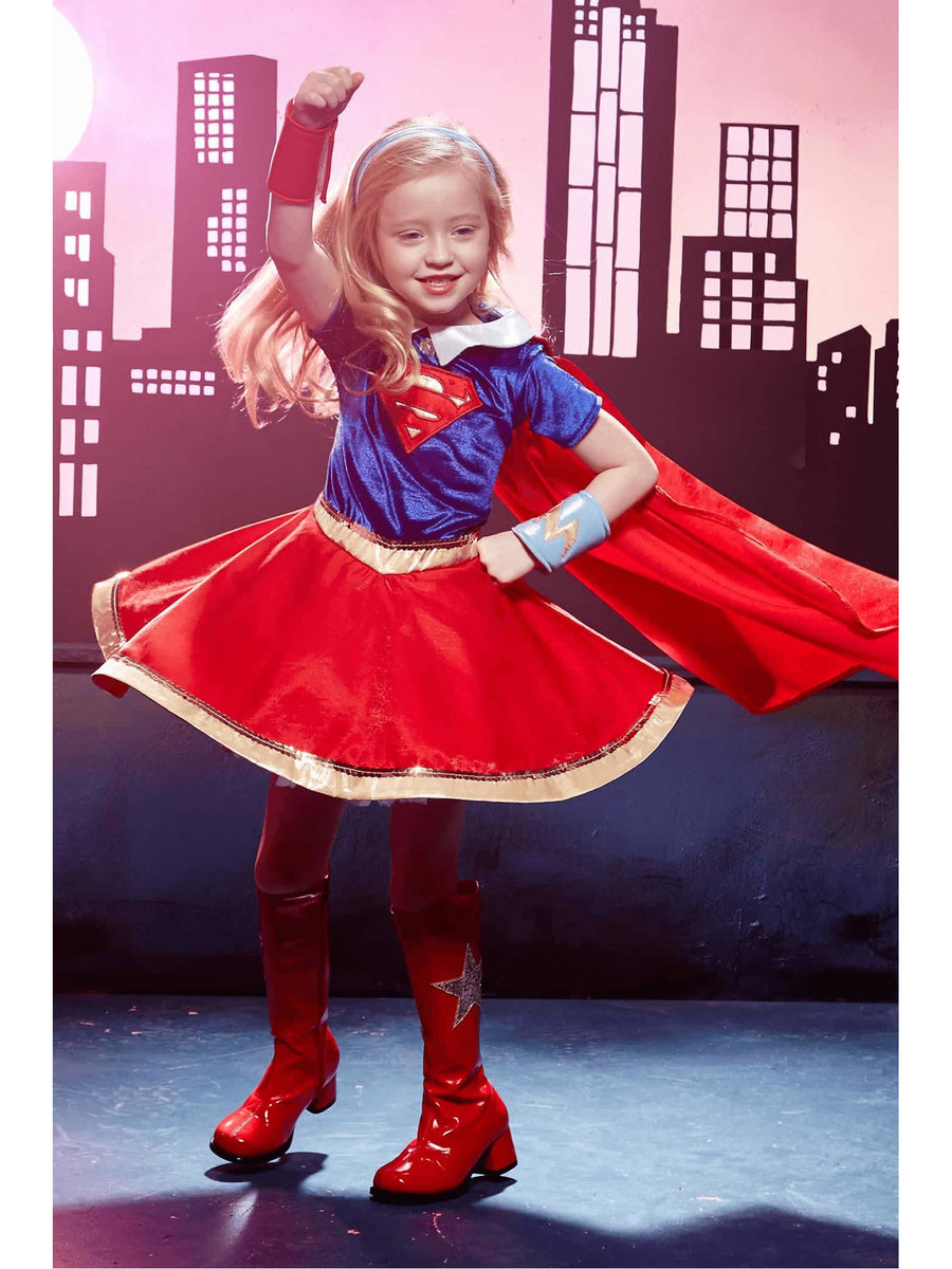 Supergirl Costume For Kids - DC Super Hero Girls