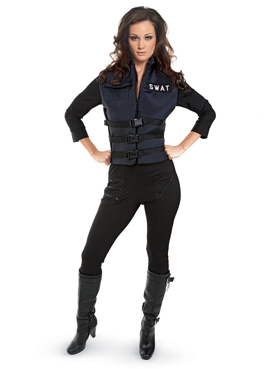 SWAT Officer Costume for Women